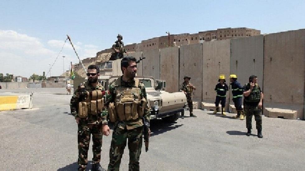 قوات الأمن عراقية