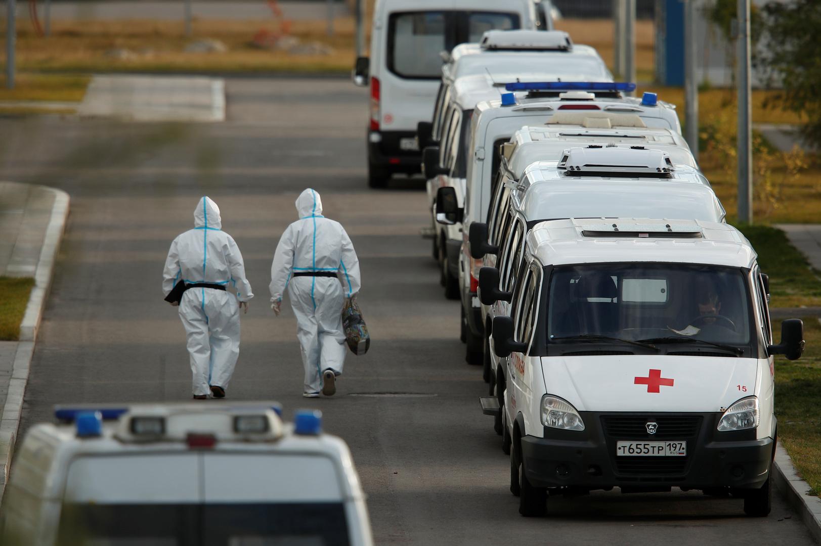 روسيا تسجل 185 وفاة و15099 إصابة جديدة بفيروس كورونا خلال الساعات الـ24 الماضية