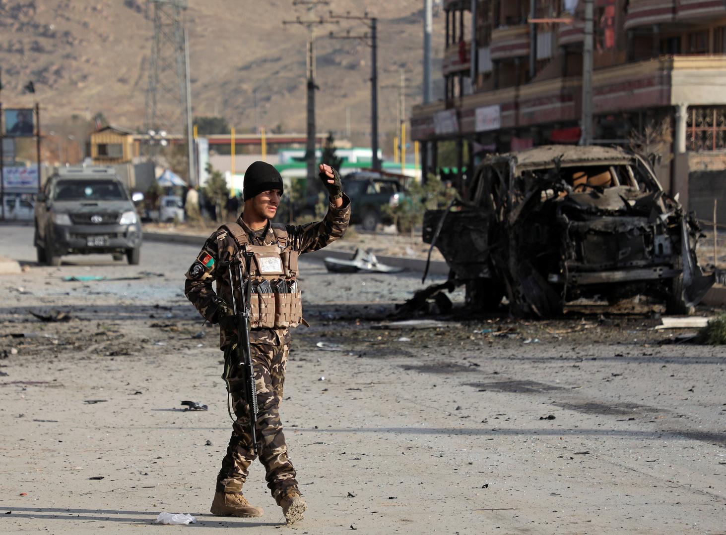 12 قتيلا وأكثر من 100 جريح جراء انفجار قرب مقر للشرطة وسط أفغانستان