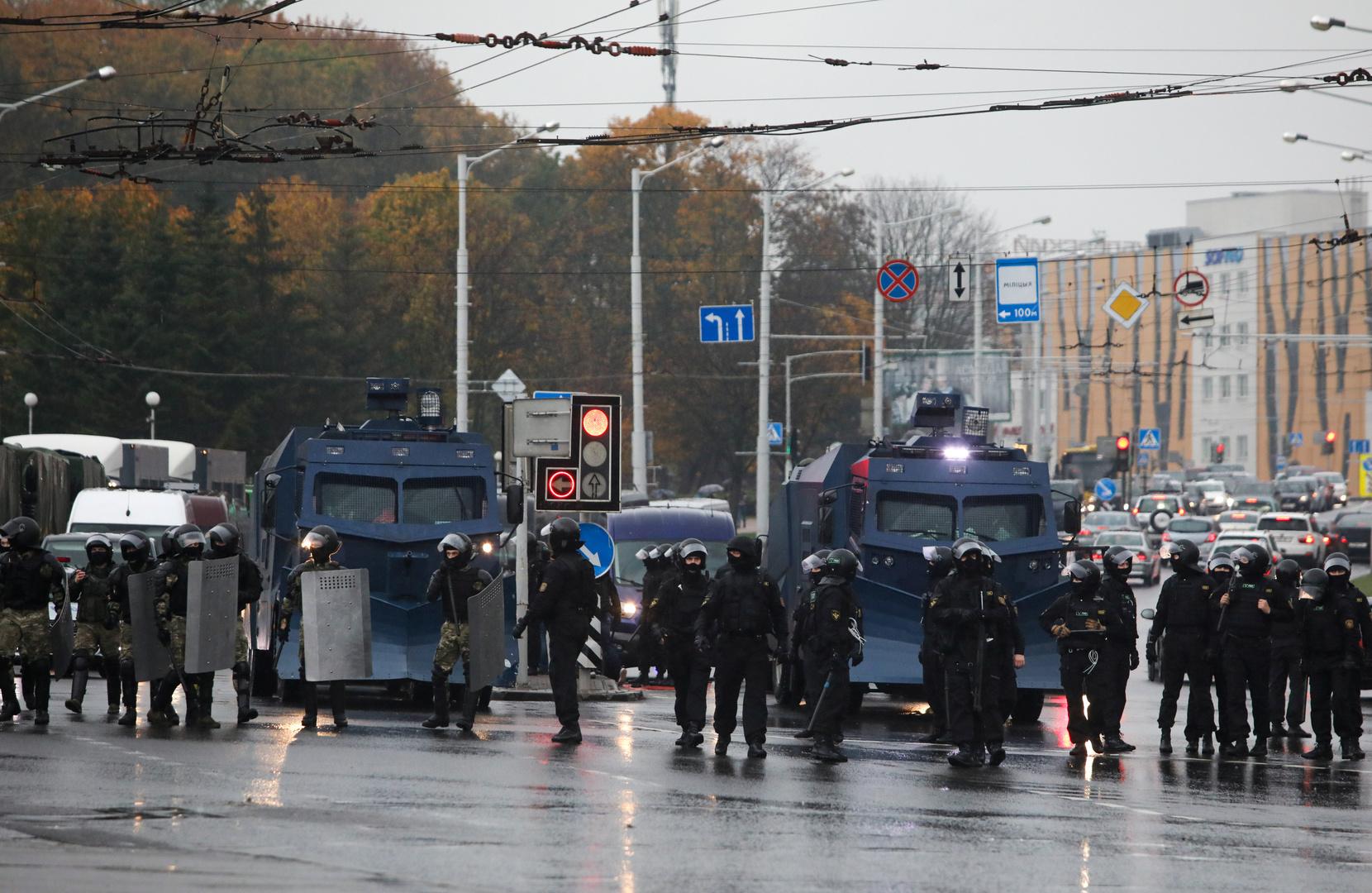 إغلاق عدد من محطات المترو في العاصمة البيلاروسية على خلفية احتجاجات