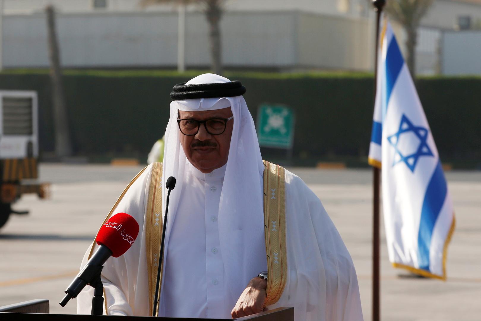 وزير الخارجية البحريني: اتفاق السلام مع إسرائيل خطوة تاريخية لخير شعوب المنطقة