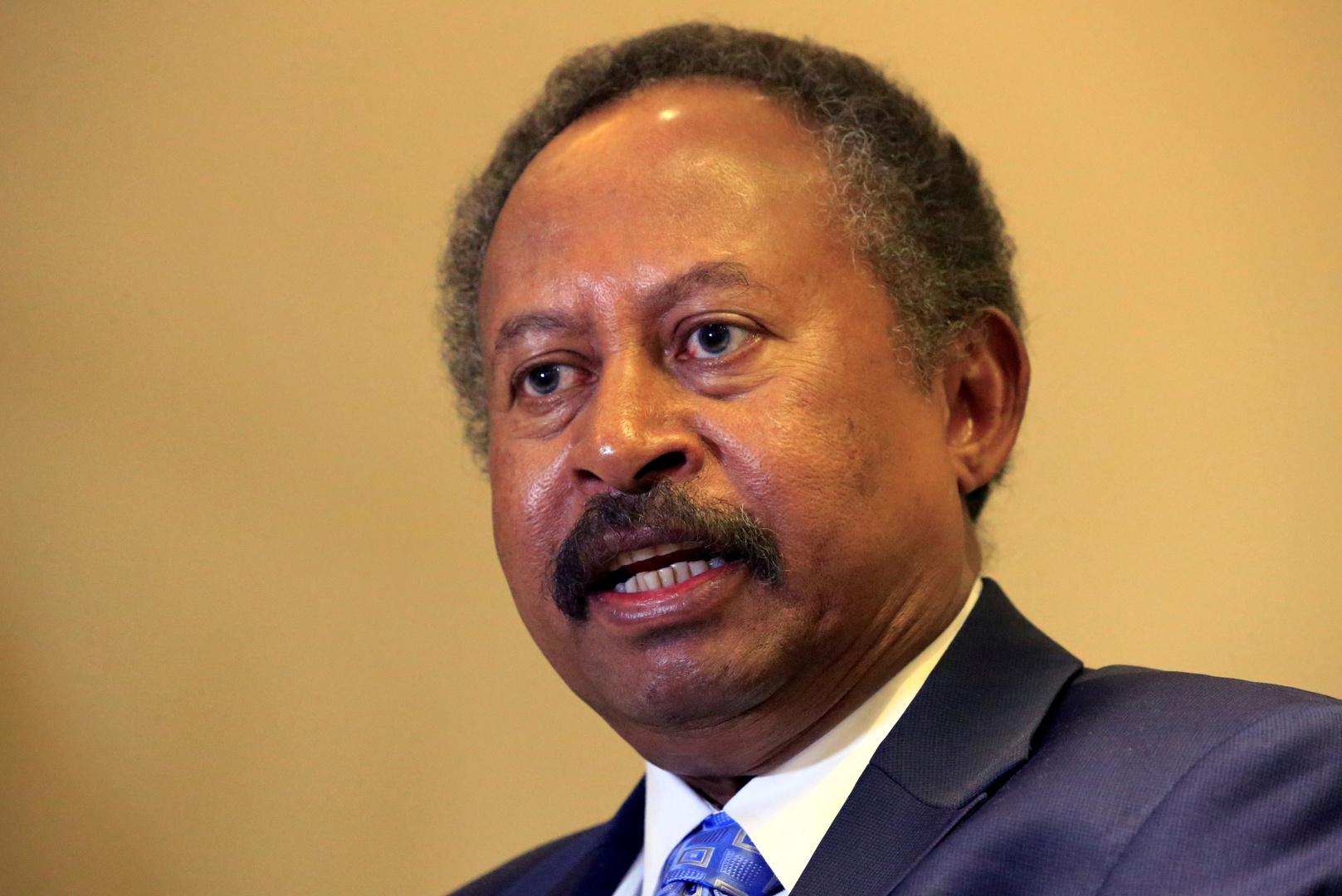 رئيس مجلس الوزراء السوداني يستقبل وفد الجنائية الدولية
