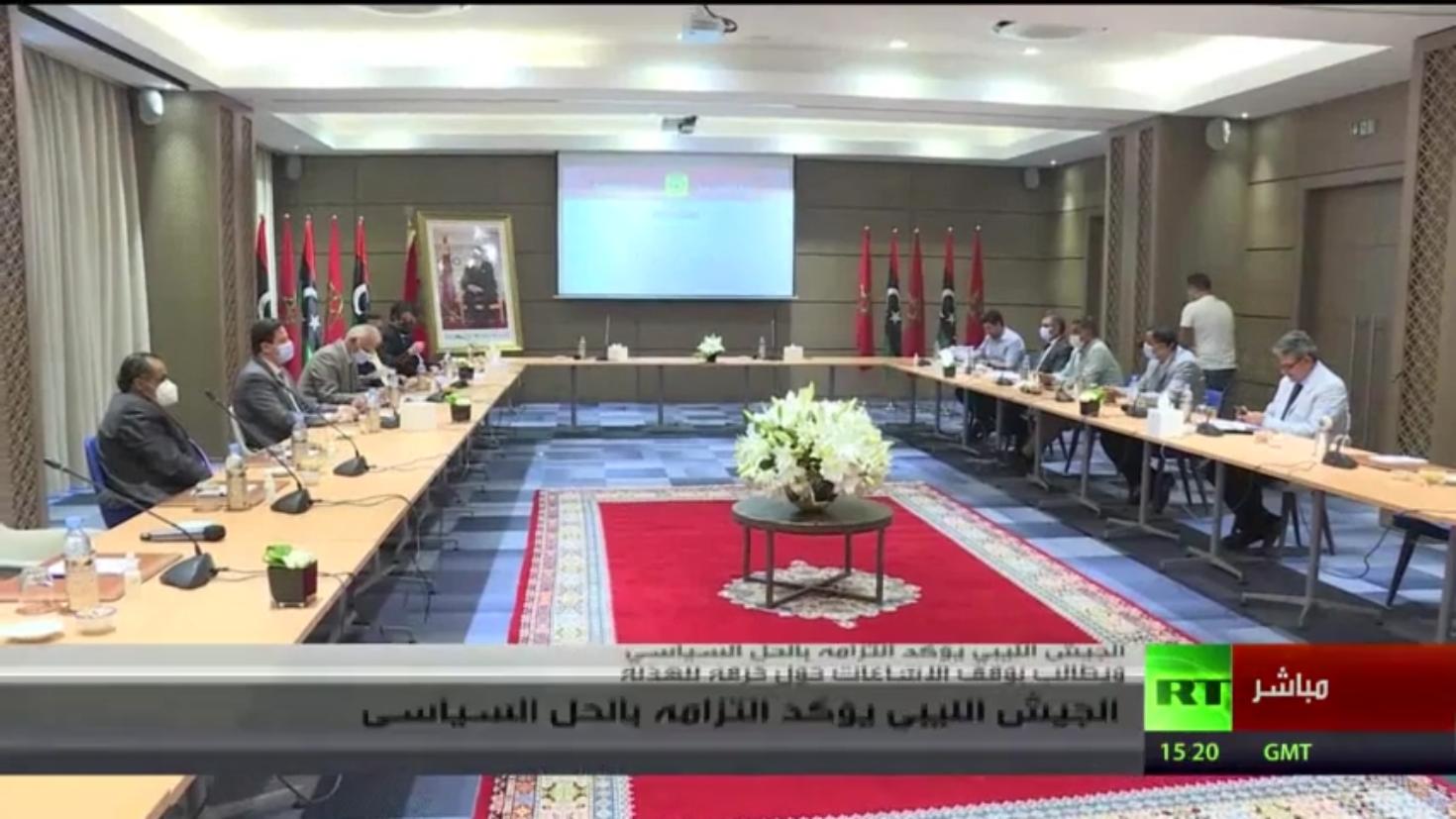 الجيش الليبي يؤكد التزامه بالحل السياسي