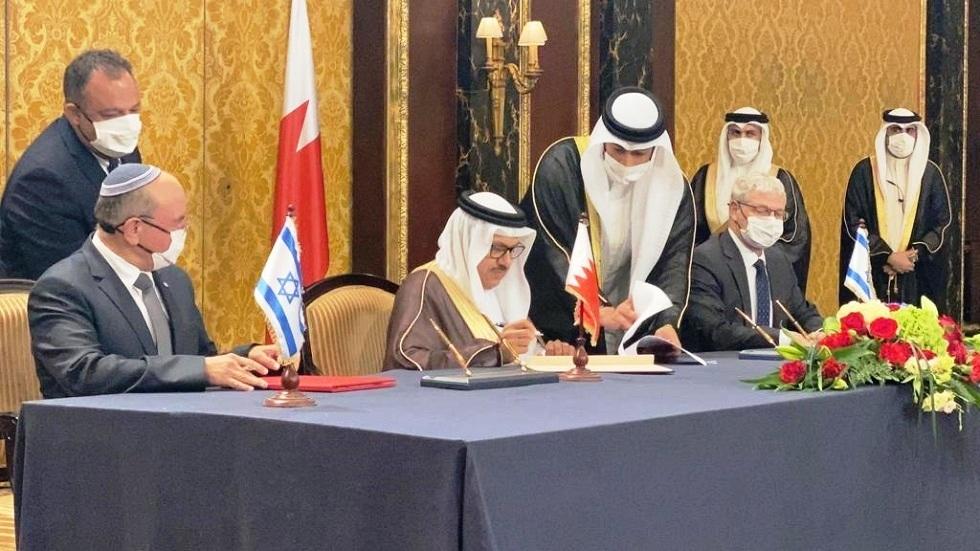 البحرين وإسرائيل توقعان 7 مذكرات تفاهم بشأن إرساء العلاقات