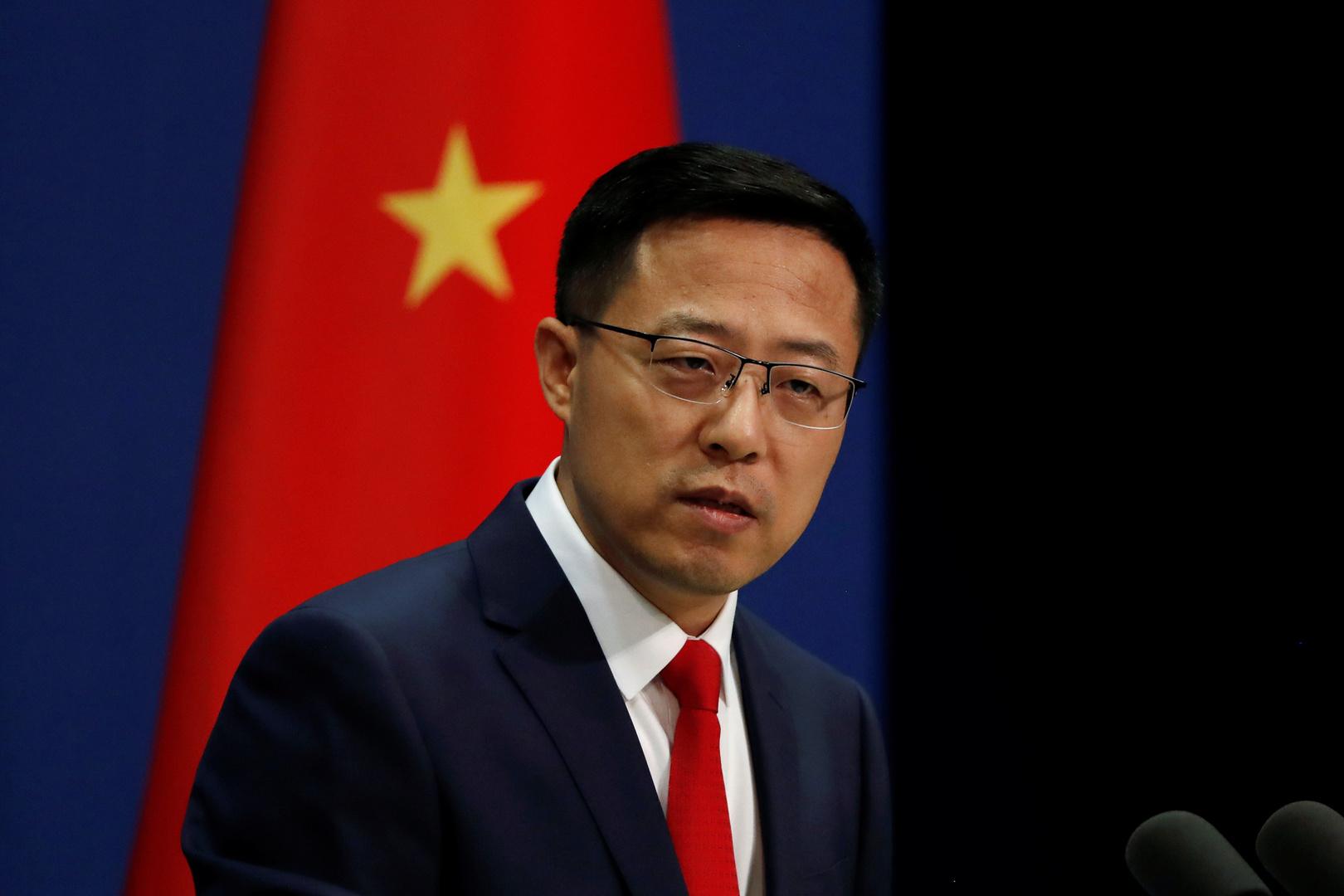 المتحدث باسم وزارة الخارجية الصينية تشاو ليجيان.