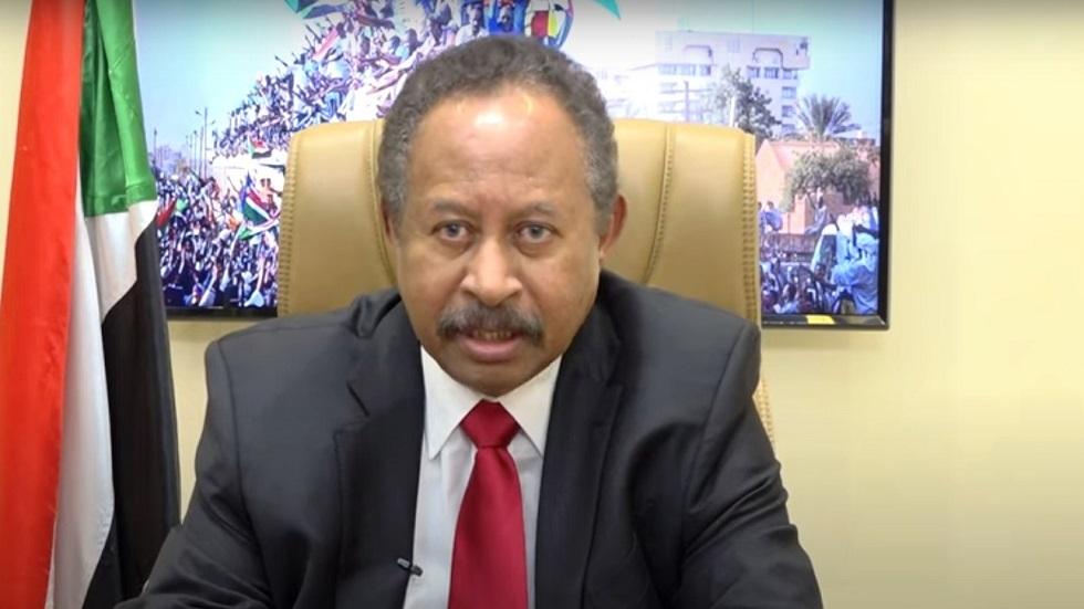 رئيس الوزراء السوداني، عبد الله حمدوك
