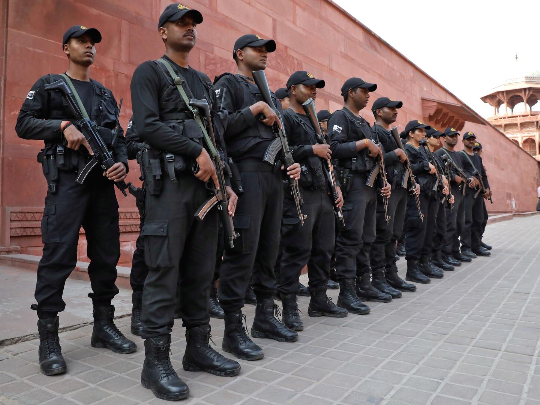 قوات مكافحة الإرهاب الهندية.