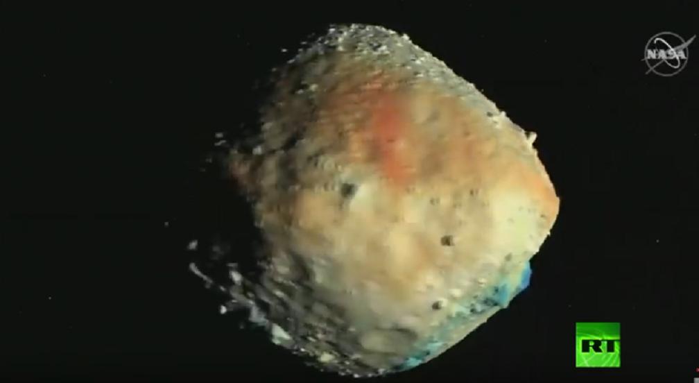 شاهد.. هبوط تاريخي لمركبة ناسا على سطح الكويكب بينو