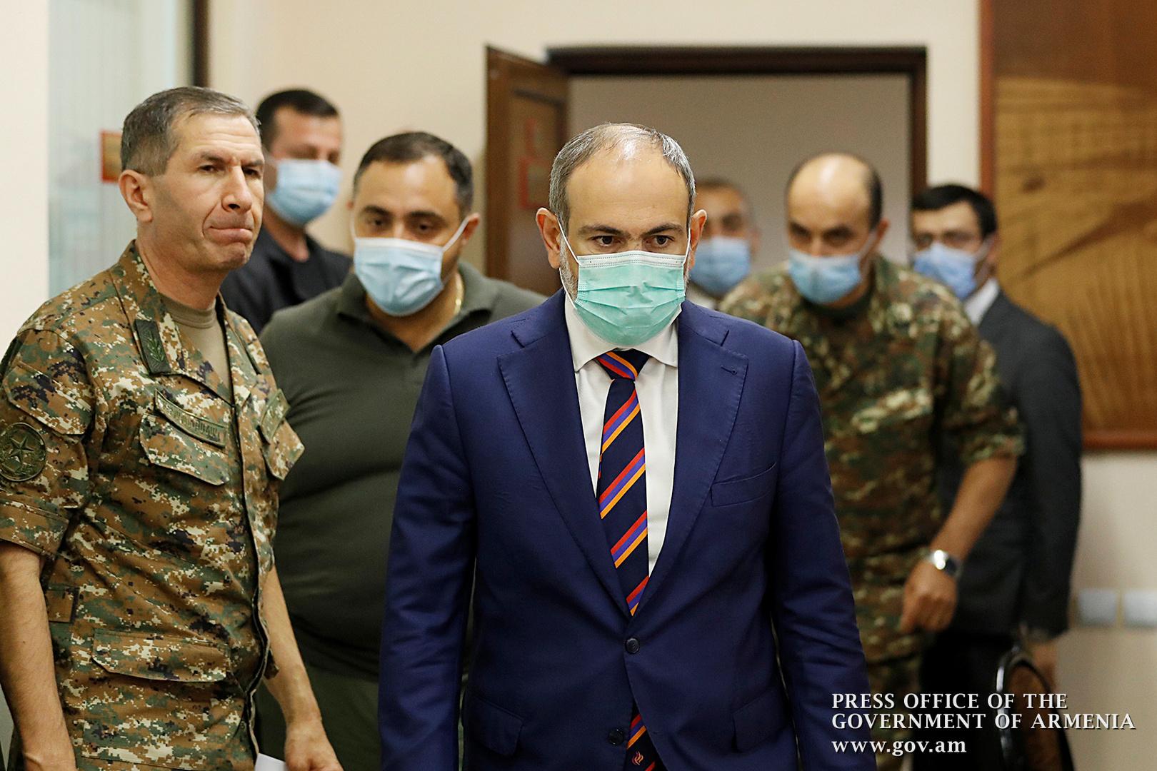 باشينيان: لا حل دبلوماسيا في قره باغ حاليا والأرمن سيقاتلون حتى النهاية