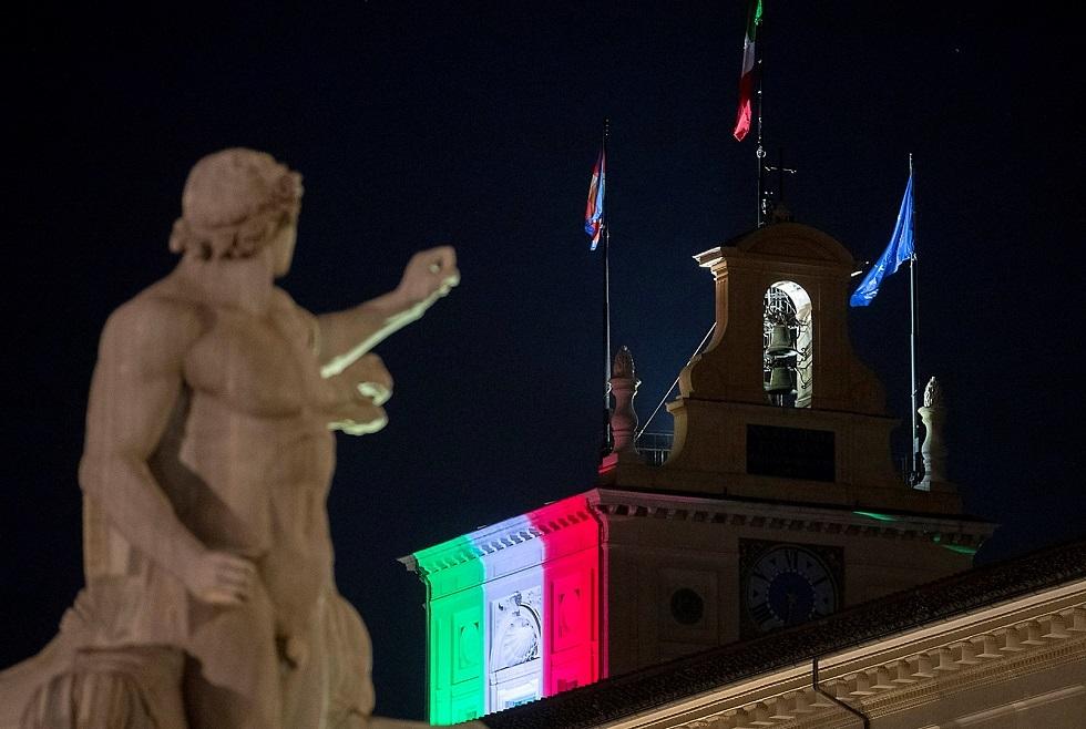 روما تفرض حظر تجوال ليلي للحد من انتشار كورونا