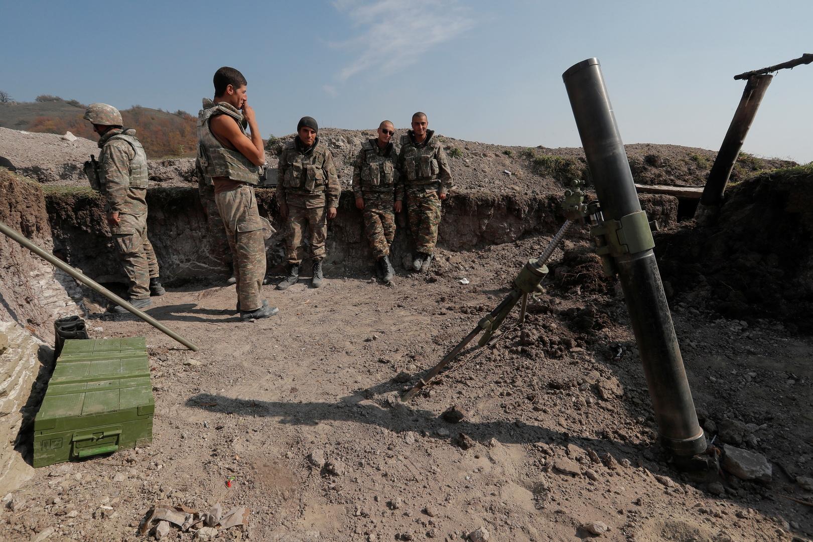 وزارة الدفاع الأرمنية: أذربيجان استخدمت الطيران التكتيكي في قره باغ
