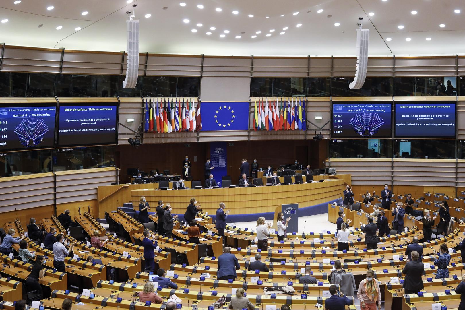 البرلمان الأوروبي يقر التوصيات بإعادة النظر في العلاقات مع بيلاروس