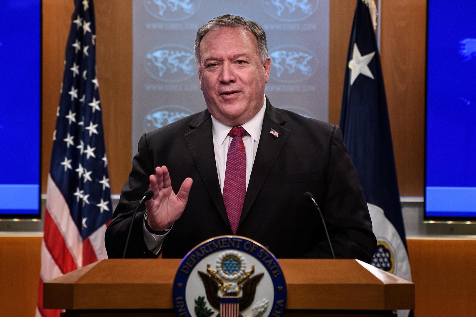 بومبيو يعلن أن سوريا رفضت طلبا قدمته الولايات المتحدة خلال