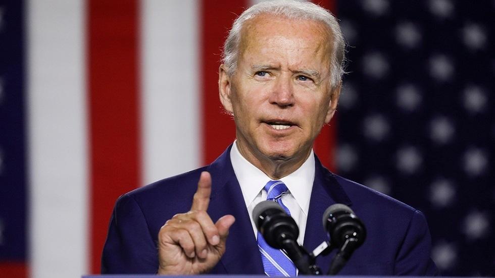 المرشح الديمقراطي لانتخابات الرئاسة الأمريكية جو بايدن