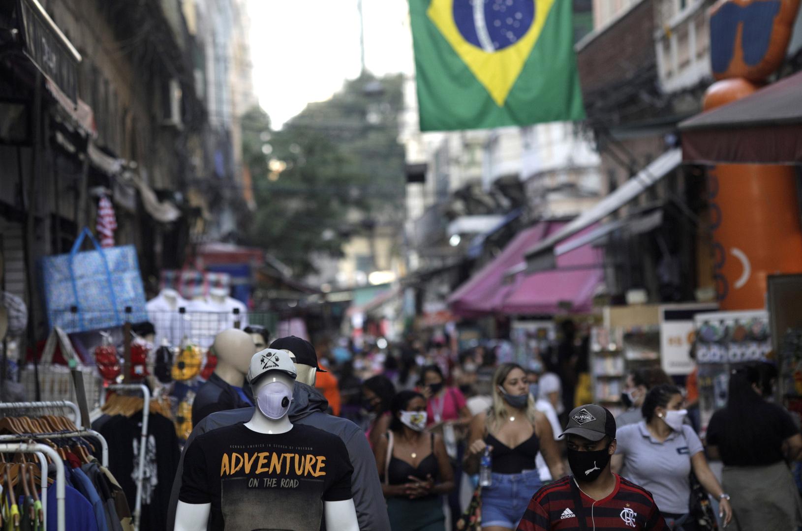 مدينة ريو دي جانيرو البرازيلية في زمن جائحة فيروس كورونا.