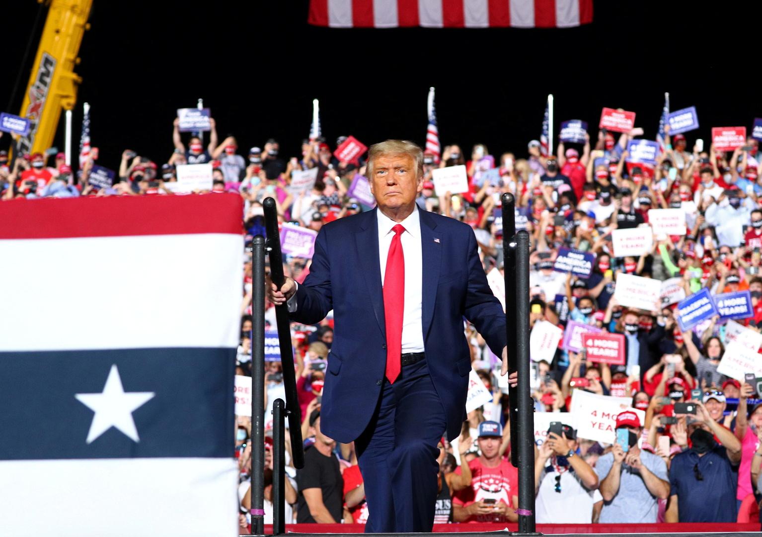 Forbes:  ترامب والحزب الجمهوري نقلا 8.1 مليون دولار من أموال المانحين إلى أعمال الرئيس