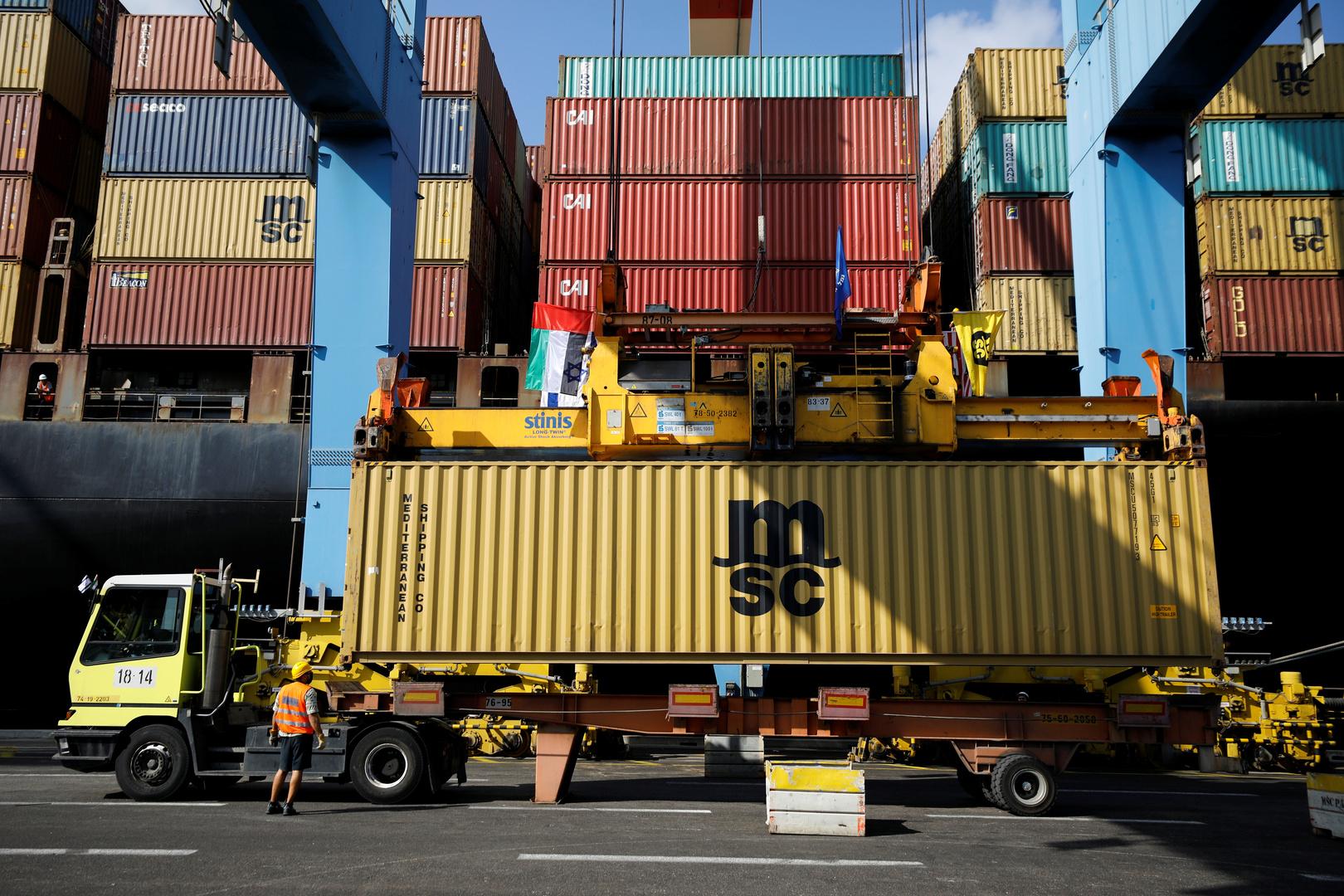 شركة تركية بصدد الاستحواذ على حصة بأكبر ميناء في إسرائيل