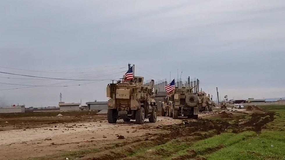 دورية أمريكية في شمال شرق سوريا