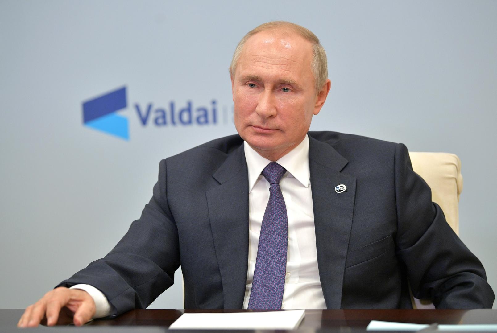 بوتين: لا نعارض انضمام الصين لمعاهدة