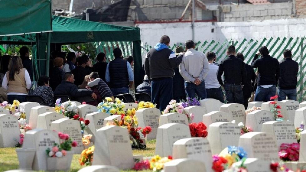 المقابر في المكسيك - أرشيف