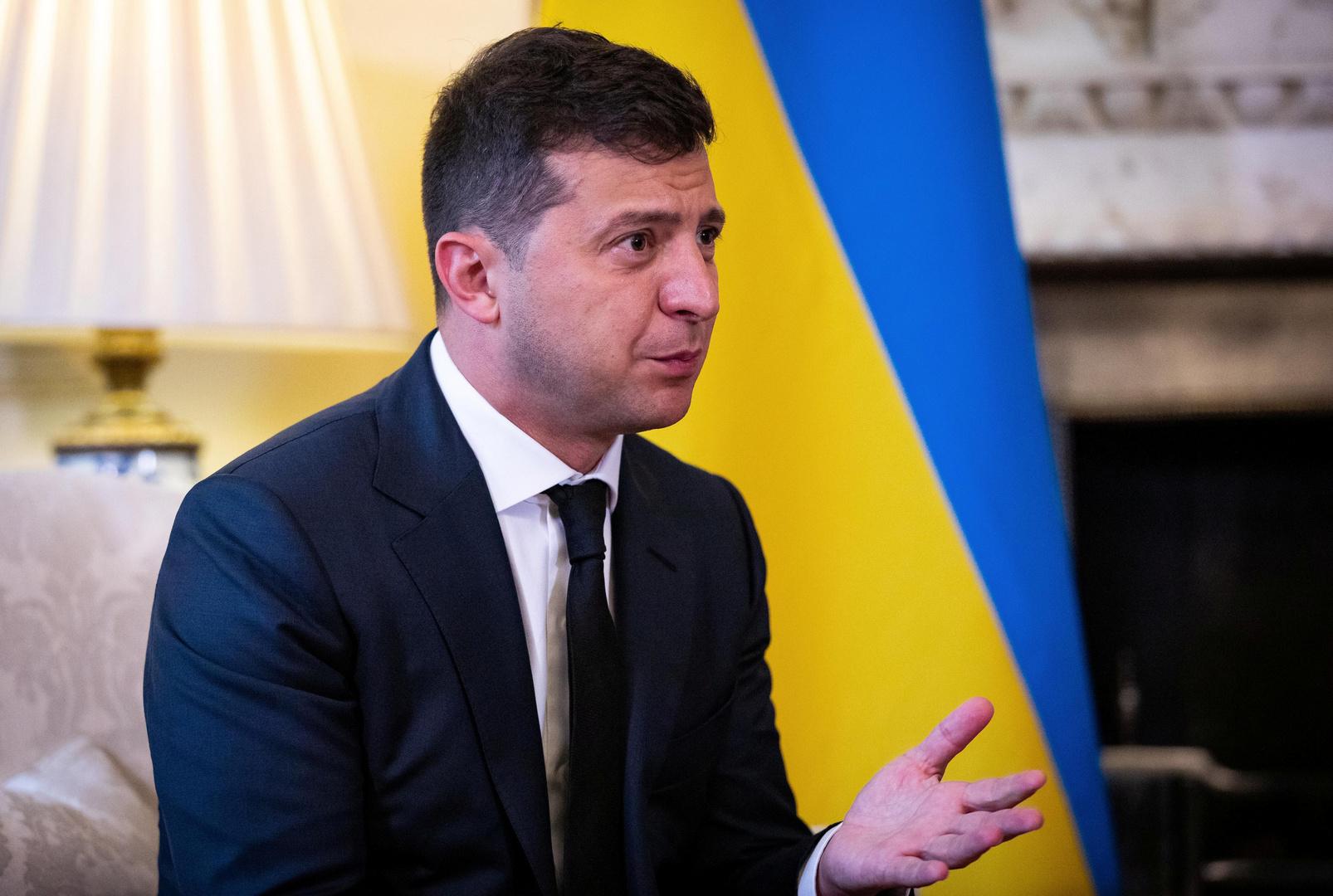 زيلينسكي يعلن استعداده لتجربة اللقاح الأوكراني ضد كورونا على نفسه