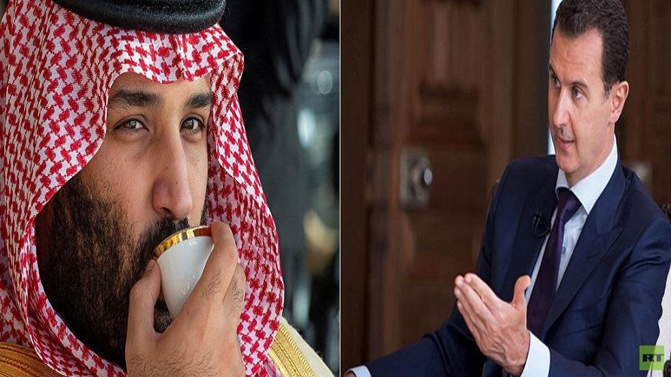 بشار الأسد ومحمد بن سلمان
