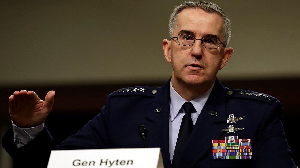 الجنرال الأمريكي جون هايتن (صورة أرشيفية)
