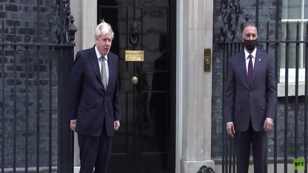 الكاظمي يلتقي جونسون في لندن