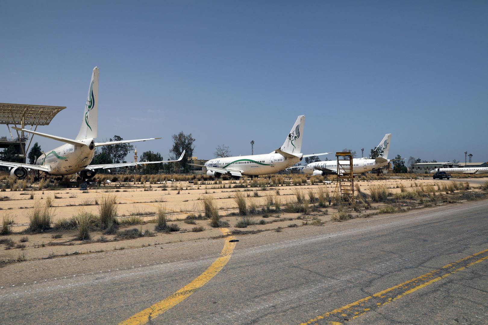 مطار طرابلس الليبية