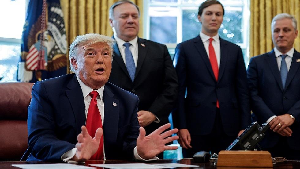 ترامب: متأكد أن السعودية ستنضم لاتفاق السلام مع إسرائيل قريبا