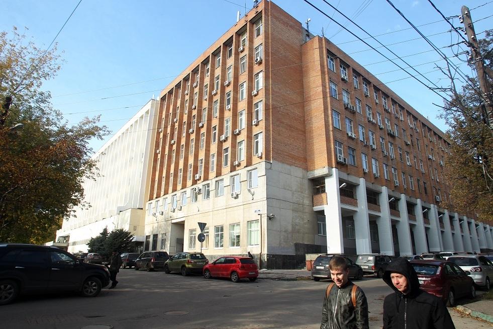 مبنى معهد الفيزياء التطبيقية التابع لأكاديمية العلوم الروسية  في نيجني نوفغورود.