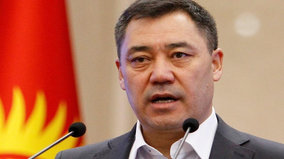 القائم بأعمال رئيس قرغيزستان صادر جاباروف