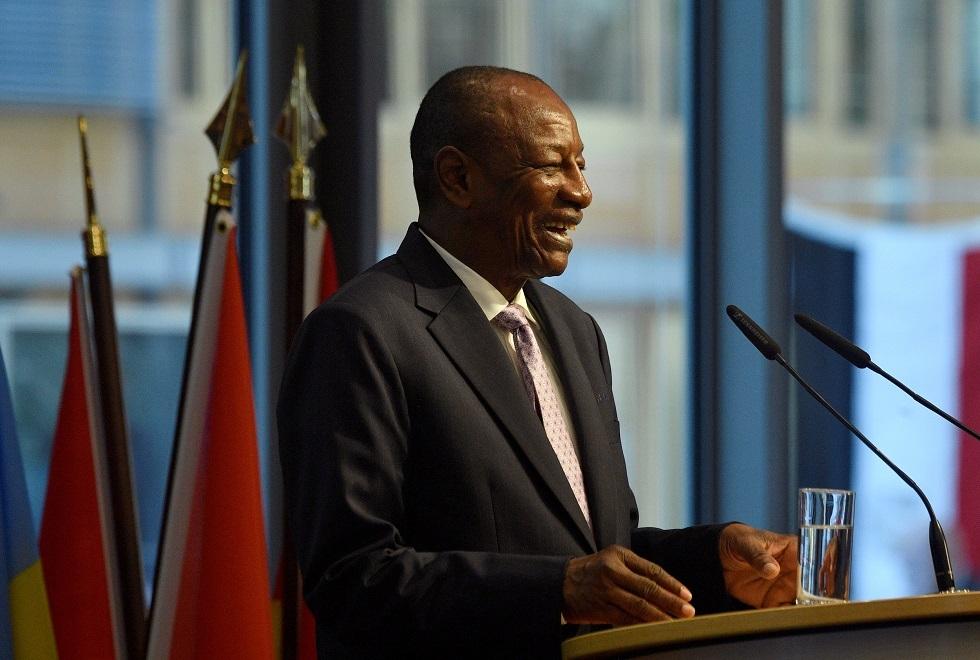 فوز رئيس غينيا في انتخابات الرئاسة