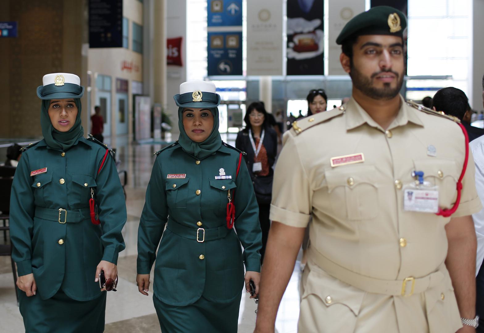 عناصر من شرطة دبي