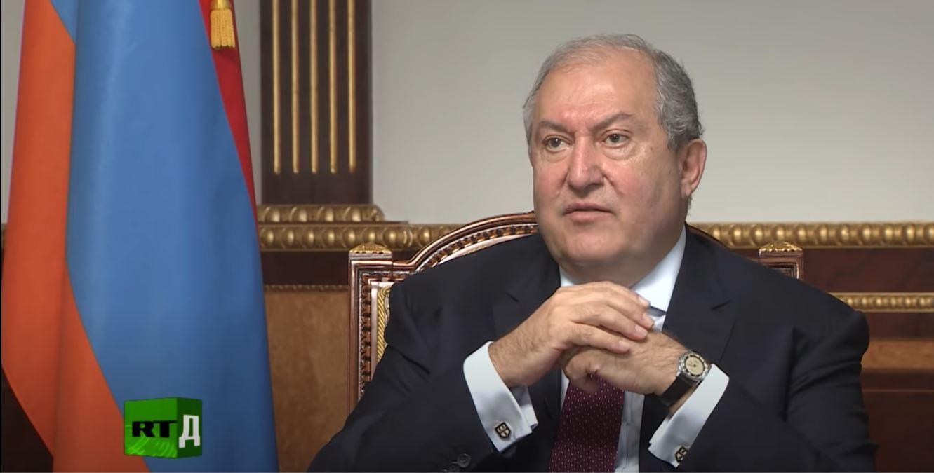 رئيس أرمينيا، أرمين سركيسيان