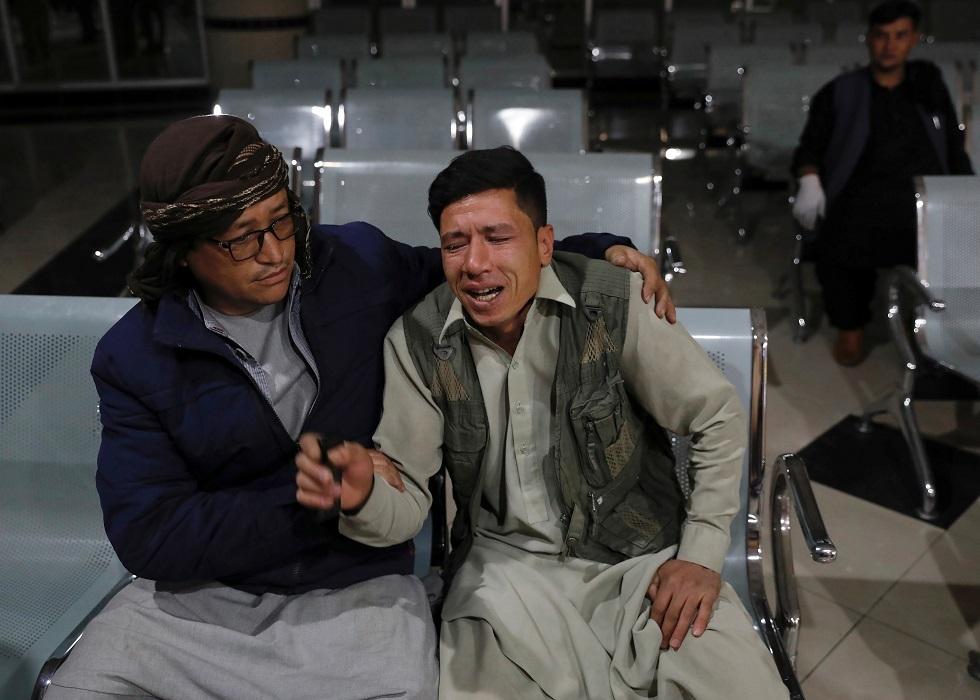 شخص فقد شقيقه بالتفجير الانتحاري في كابل