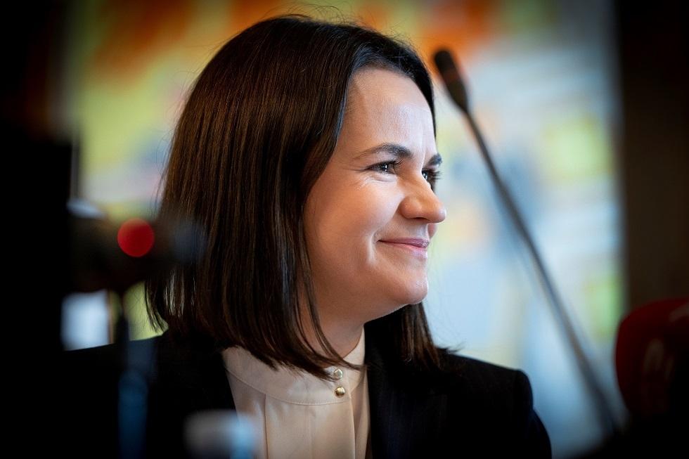 المعارضة البيلاروسية سفيتلانا تيخانوفسكايا