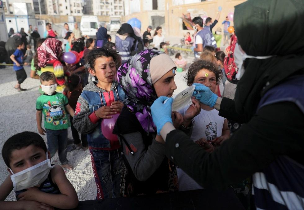 تدابير احترازية ضد كورونا في إدلب