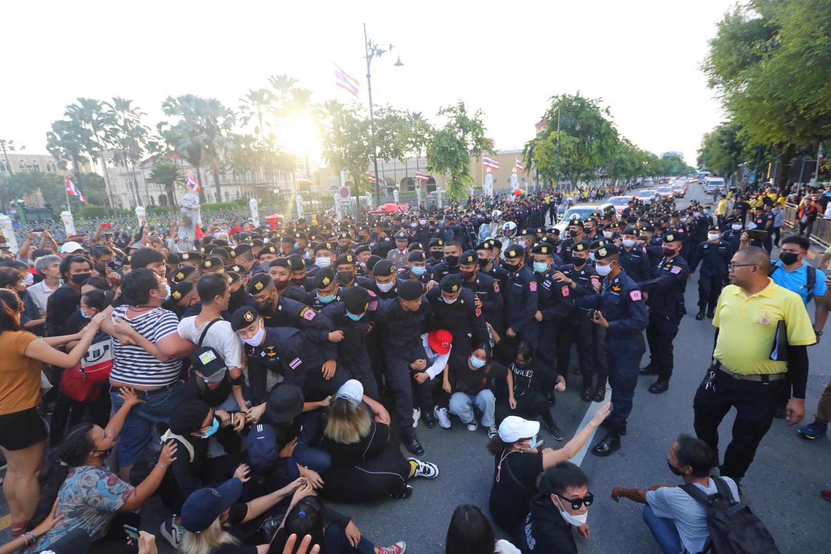 احتجاجات مناهضة للحكومة في تايلاند