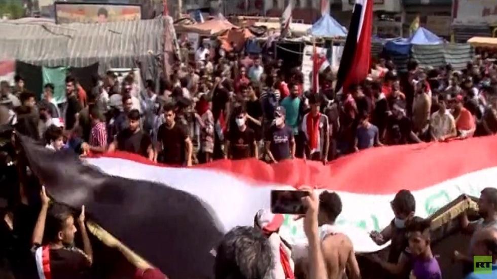 تظاهرات حاشدة في بغداد ومدن عراقية أخرى