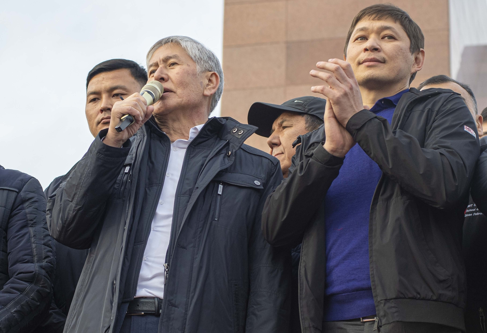الرئيس القرغيزي السابق، ألمازبيك أتامبايف - أرشيف