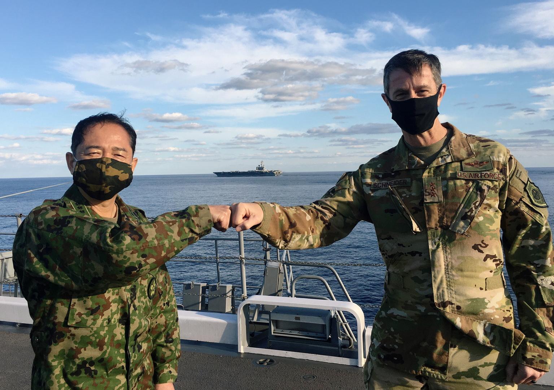 اليابان والولايات المتحدة تجريان مناورات عسكرية كبرى مع تنامي القلق بشأن الصين
