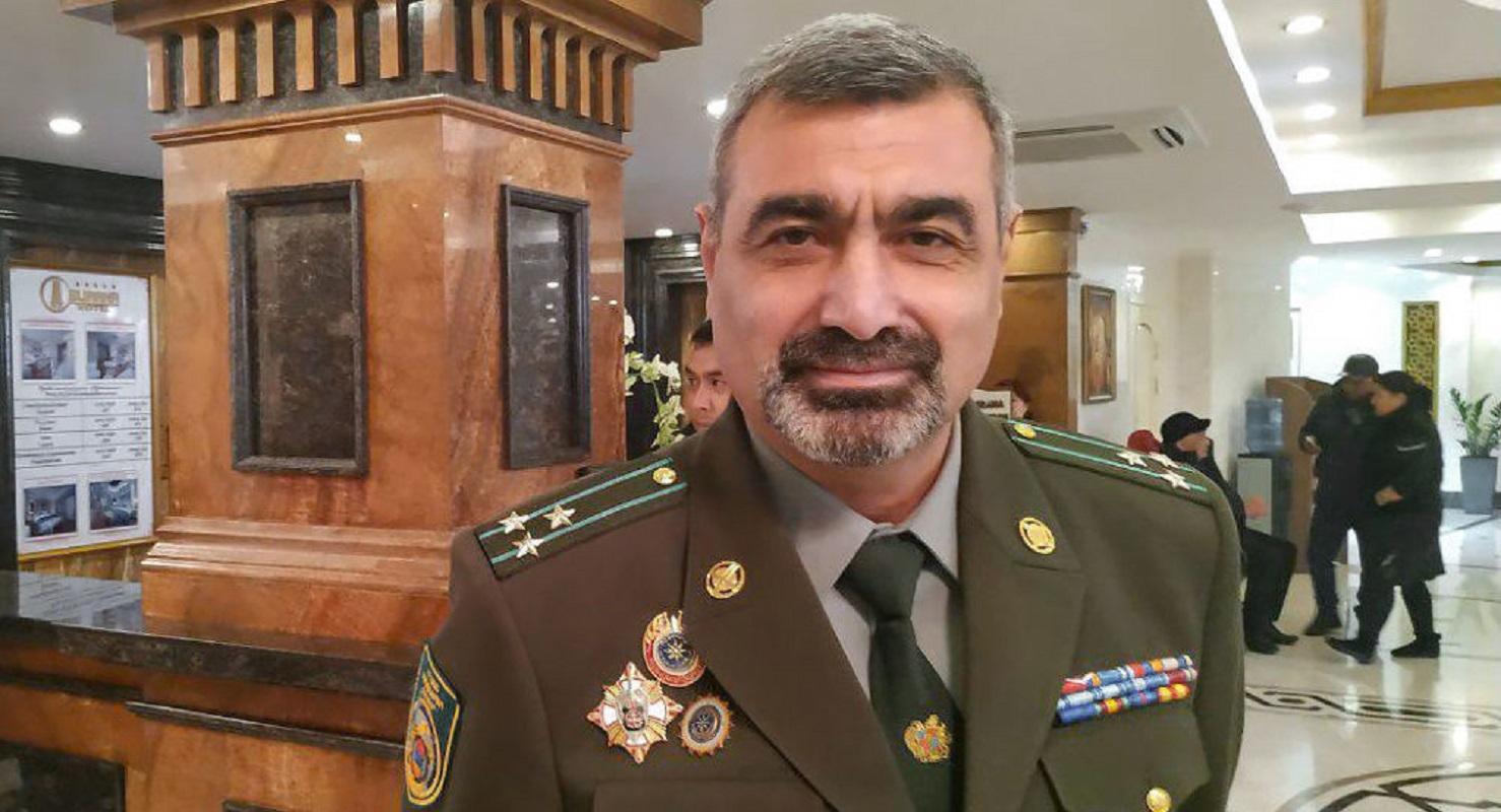 القائد السابق لقوات حرس الحدود الأرمني، فاغيناك سركيسيان