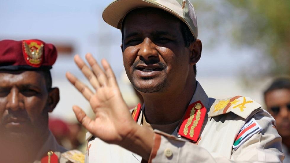 دقلو: لا علاقة بين شطب اسم السودان من قائمة الإرهاب وقرار التطبيع مع إسرائيل