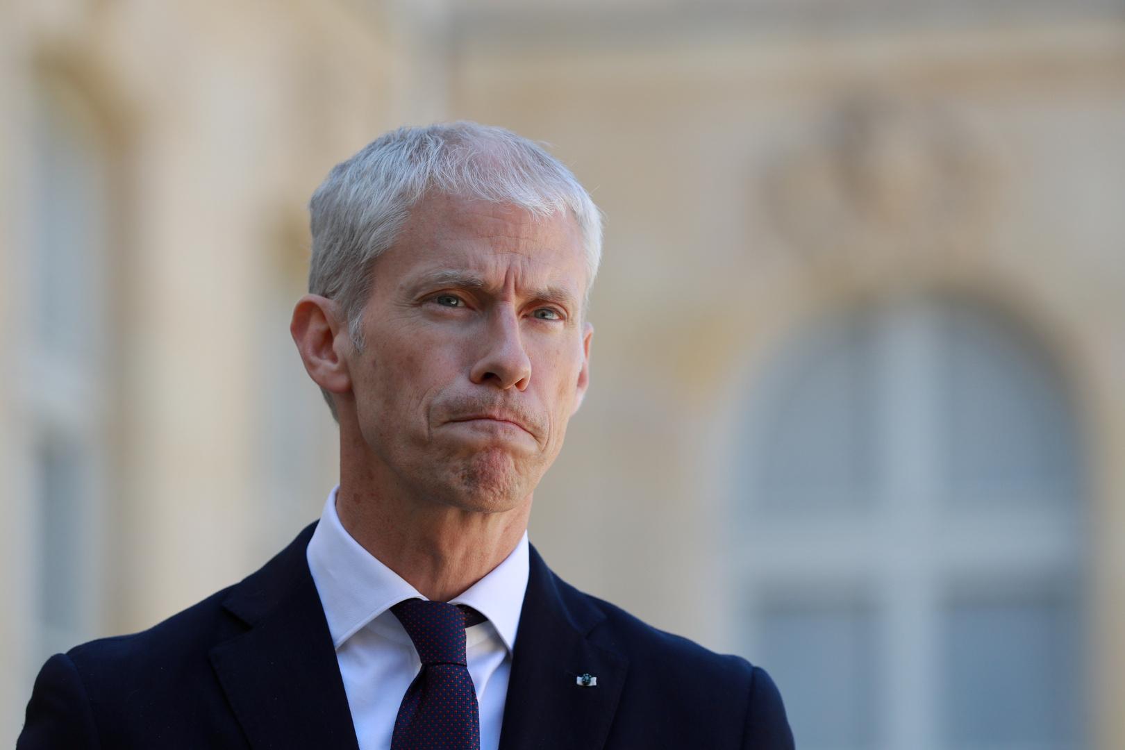 وزير التجارة الفرنسي، فرانك ريستير.