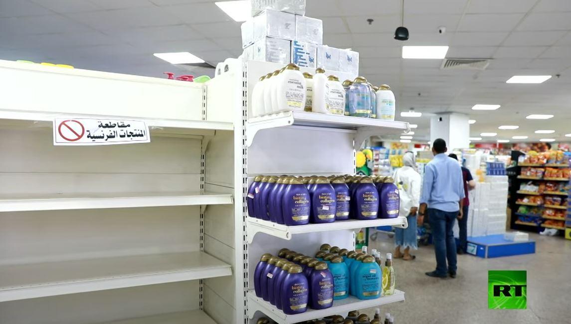 المتاجر الكويتية تزيل المنتجات الفرنسية عن رفوفها