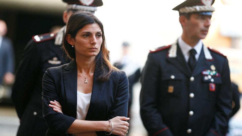 رئيسة بلدية روما فيرجينيا رادجي