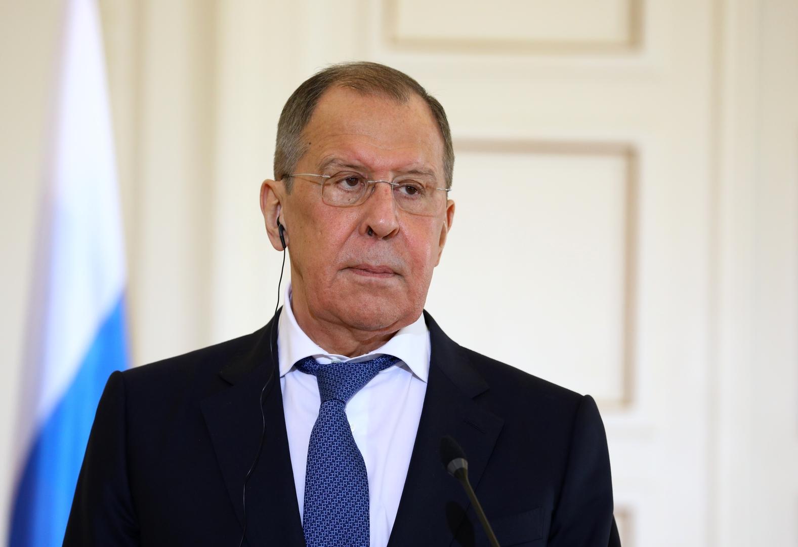 لافروف: واشنطن والاتحاد الأوروبي يضاعفان جهودهما لردع روسيا