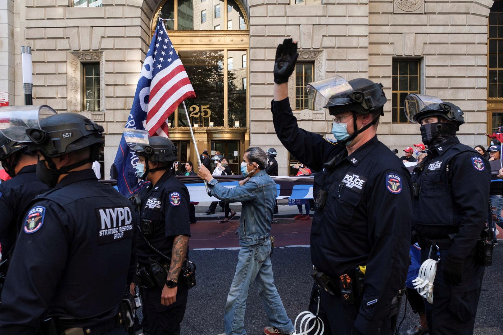 الداخلية الأمريكية تستعد لاضطرابات محتملة أثناء الانتخابات