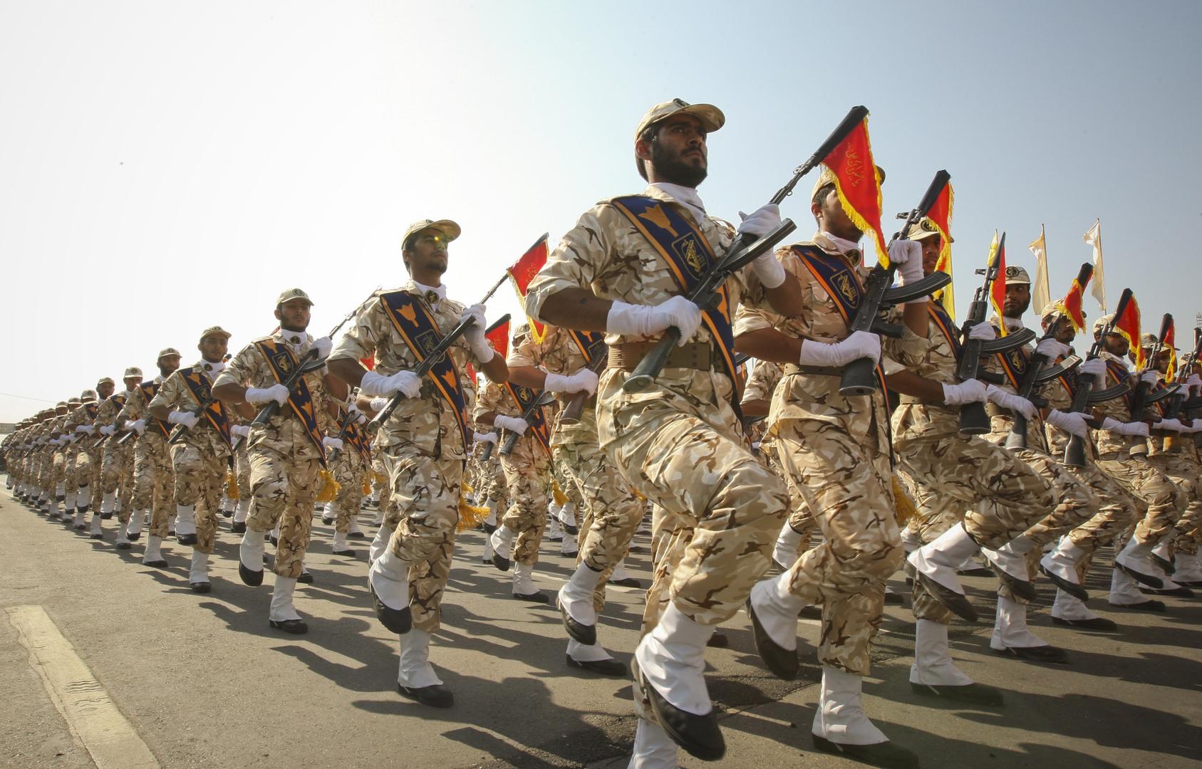 الحرس الثوري الإيراني. أرشيف.